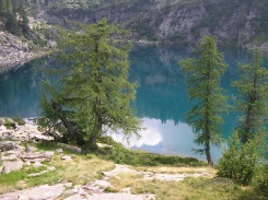 Bergsee bei Alpe Sfille